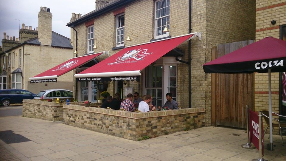 food retail awnings in Kent