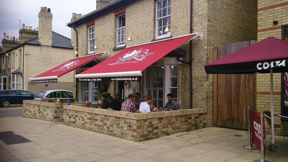 food retail awnings in Kent
