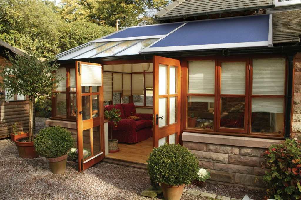 conservatory roof awnings in Kent