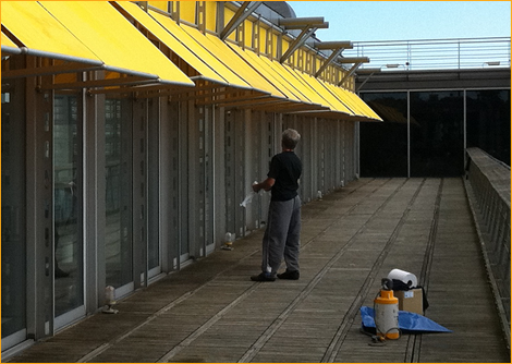 commercial awnings in Kent