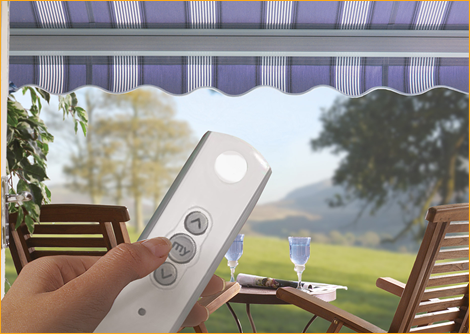 remote control awnings in Kent