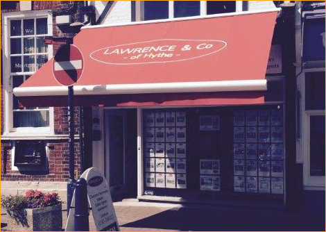 Lawrence of Hythe awnings in Kent