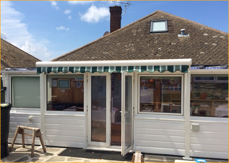 seaside awnings in Kent